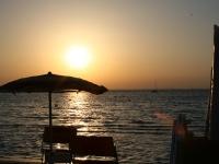 Lido oasi sant'isidoro, al tramonto